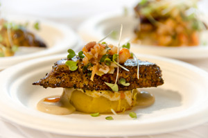 2012 Chef Cookoff Winner - Mahi Mahi recipe from Ron Miller of Hukilau Lanai