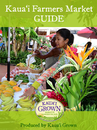 Download printable Kauai Farmers Market Guide PDF