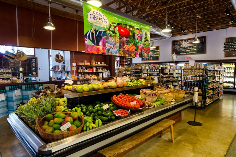 Living Foods Market Cafe Kauai Grown Retailer